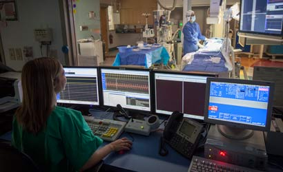 Cardio Cath Lab at CHKD