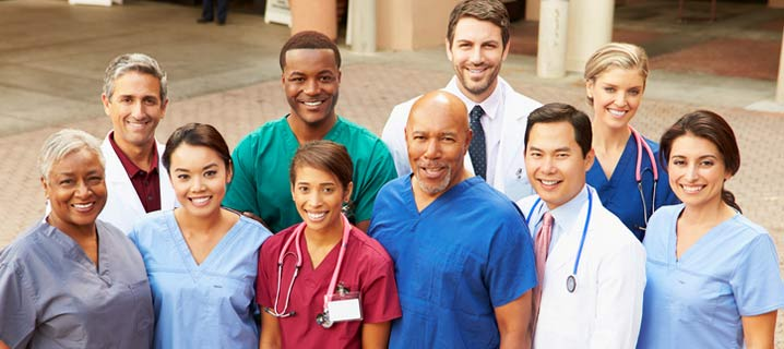 Diverse Group of Medical Professionals