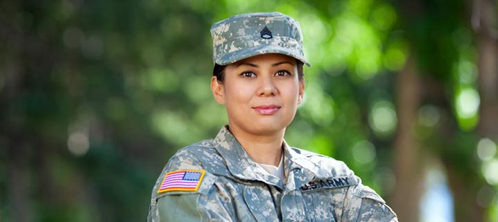Female Military Veteran