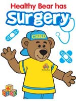 Surgery coloring book cover