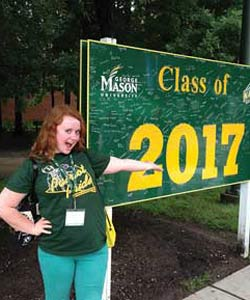 Grace Blackburn at GMU