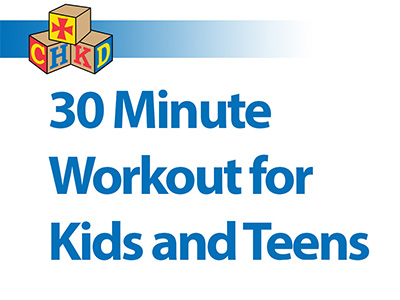 SPA - 30 Minute Workout for Kids and Teens