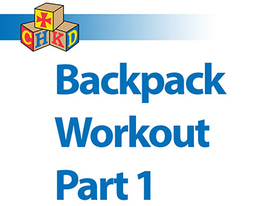SPA - Backpack Workout Part 1