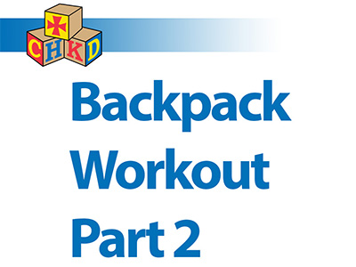SPA - Backpack Workout Part 2