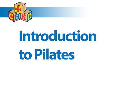 SPA - Introduction to Pilates